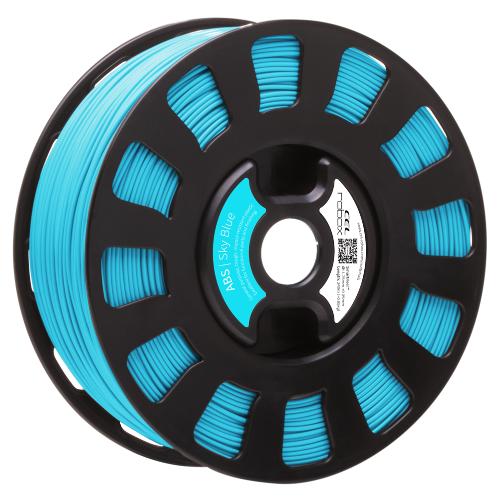 ABS Filament - Sky Blue RBX-ABS-BL002