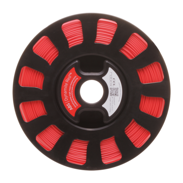 ABS Filament - Dynamite Red RBX-ABS-RD537