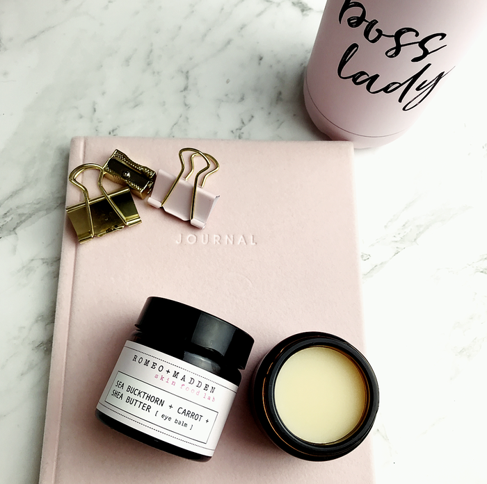 Sea Buckthorn + Carrot + Shea Butter [ eye balm ]