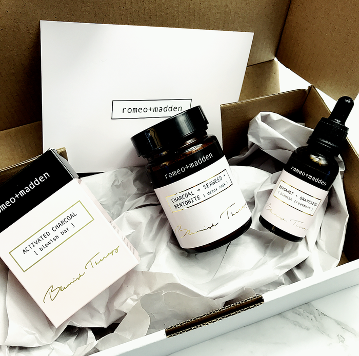 The Detox Box [ blemish therapy combo ] Xmas Edition!