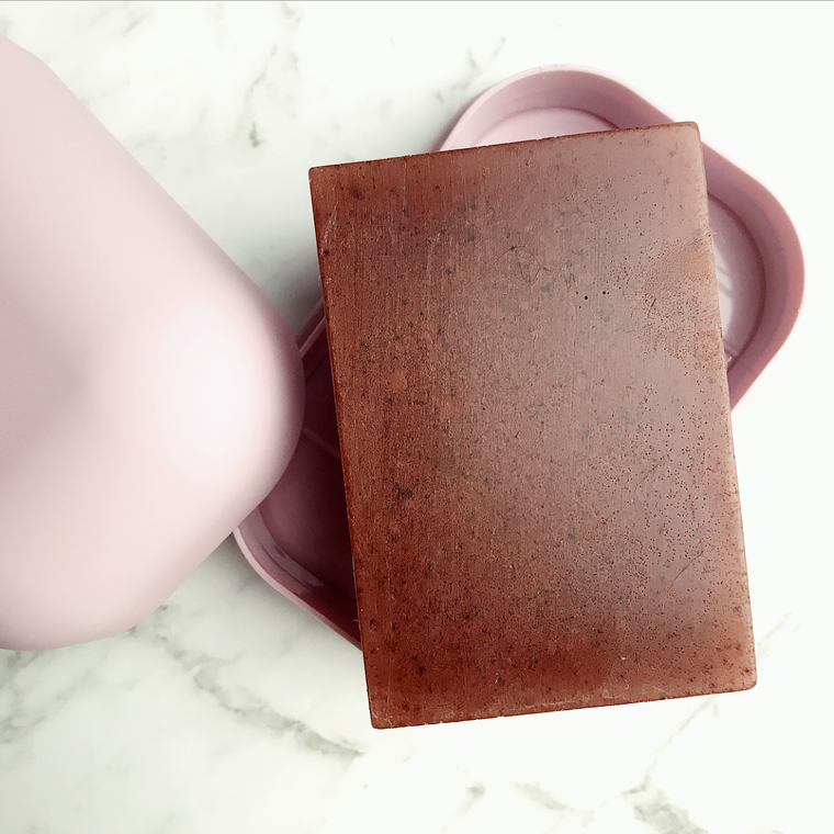 Pink Clay [ skin softening beauty bar ]