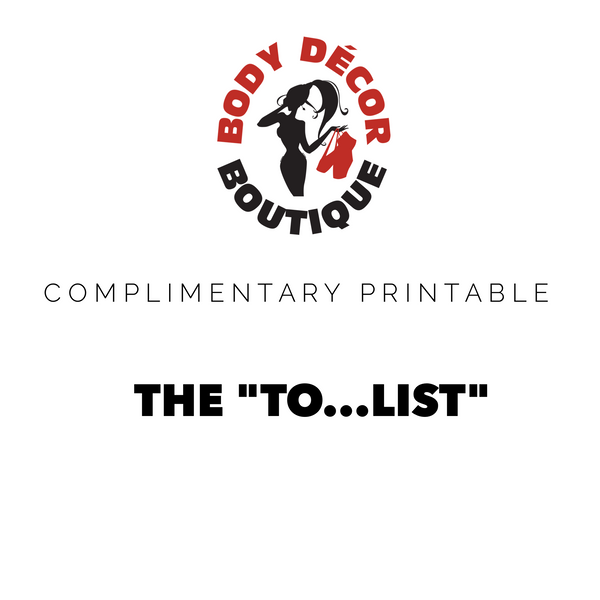 "Free Printable ""To...List"""
