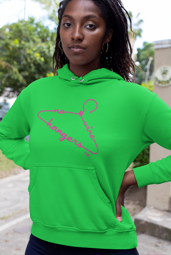 NO WIRE HANGERS Hoodie (Adults)