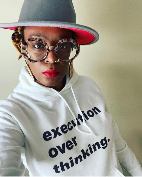 EXECUTION OVER THINKING.  (Tee, Sweatshirt, Hoodie)