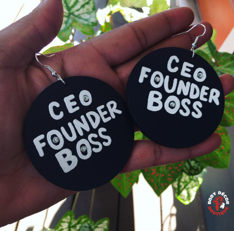 CEO. FOUNDER. BOSS.