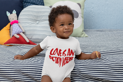 LOVE IS AN ACTION VERB (Onesie for Girls & Boys)