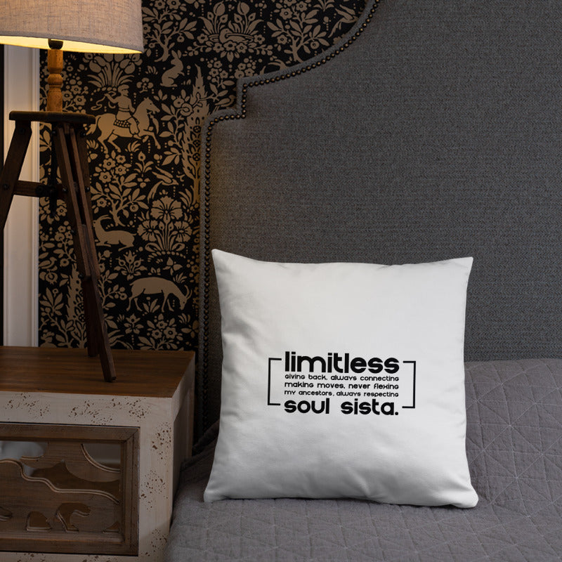 Soul Sista (Limitless) Pillow