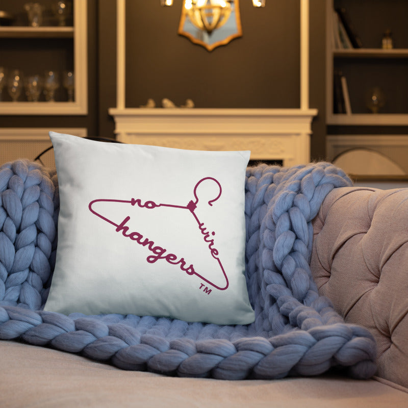 NO WIRE HANGERS Pillow