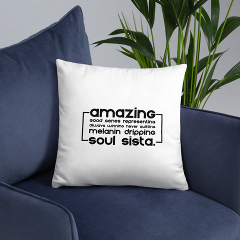 Soul Sista (Amazing) Pillow