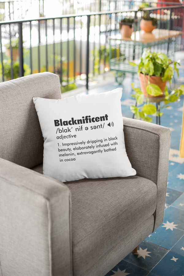 BLACKNIFICENT Pillow