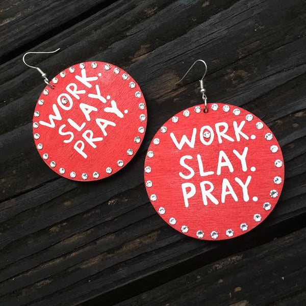 WORK. SLAY. PRAY. - Body Decor Boutique - 8
