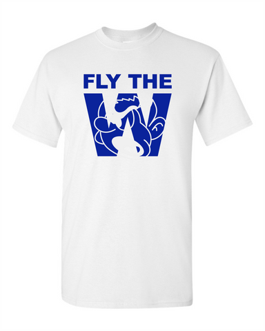 FLY THE W - T-SHIRT - WHITE