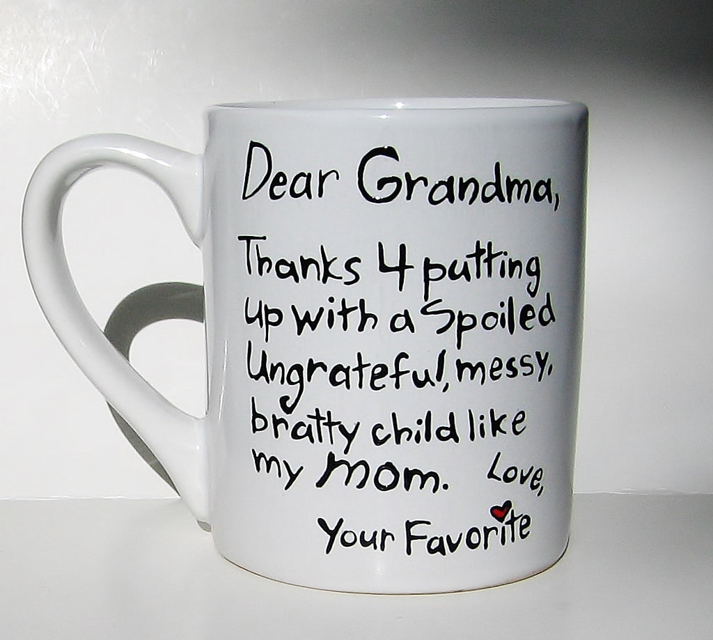 Grandma mug funny birthday gift mean muggin 39 cups for What to get grandma for mother s day