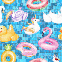 RETAIL large scale  Floatie Fun 95/5 Cotton Lycra