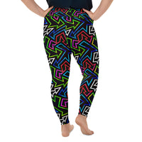 GLOWGA Plus Size Leggings