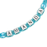 NAME BEAD FASHION BRACELET - STERLING SILVER