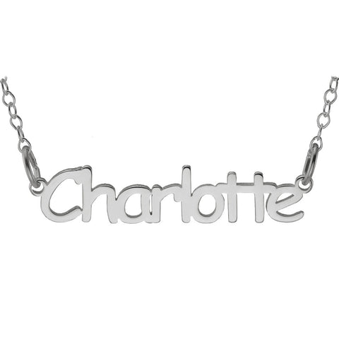 NAME NECKLACE YOUNG SPIRT - STERLING SILVER