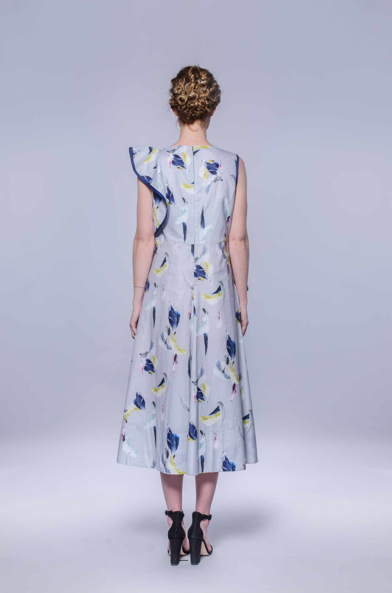 Maggy May Dress - Feather Print