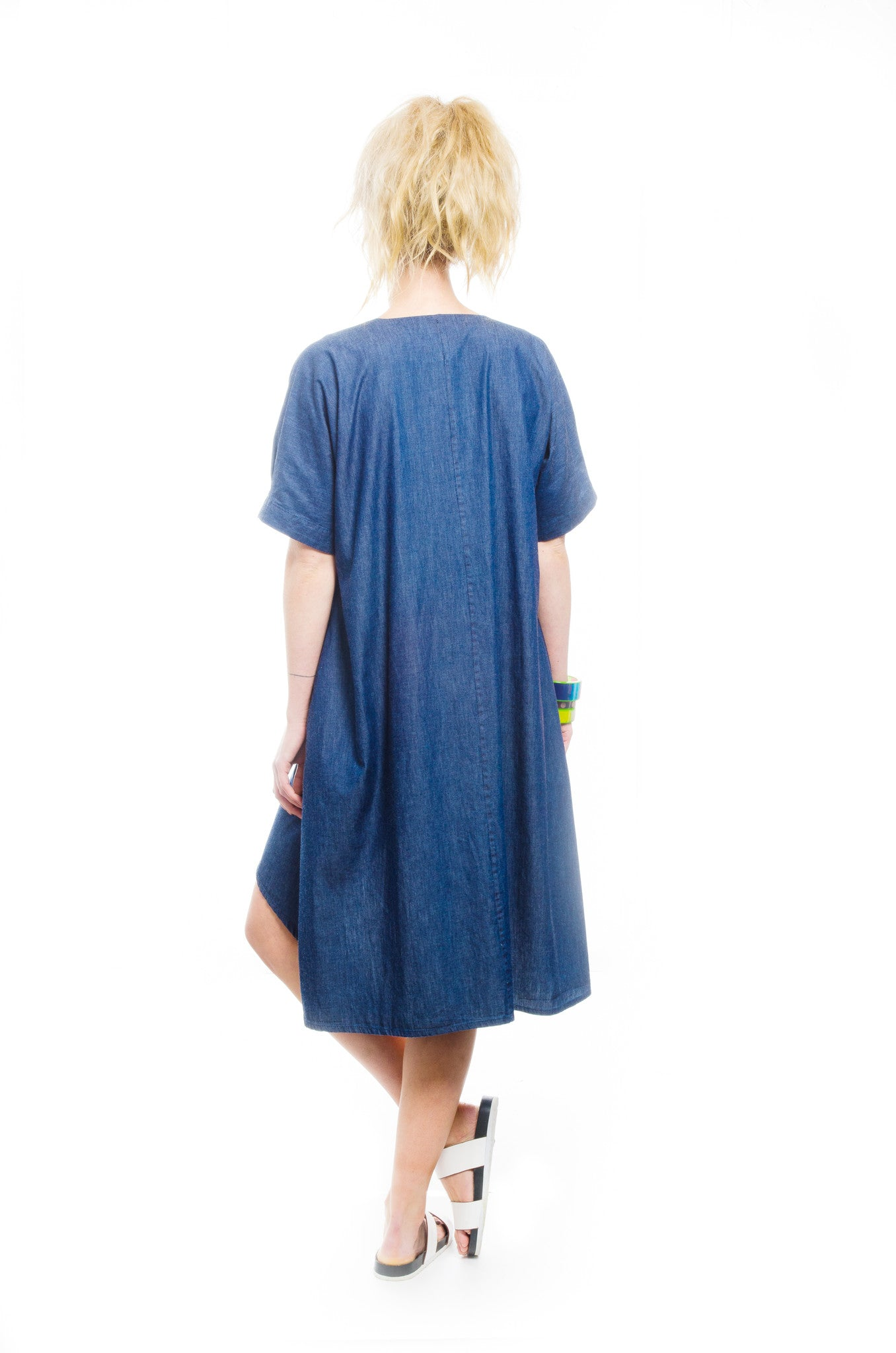 Holiday Dress - indigo