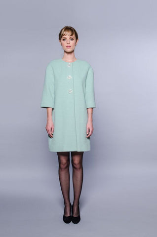 London Coat - mint