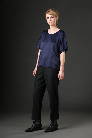 Occasion Tee - bright navy blue