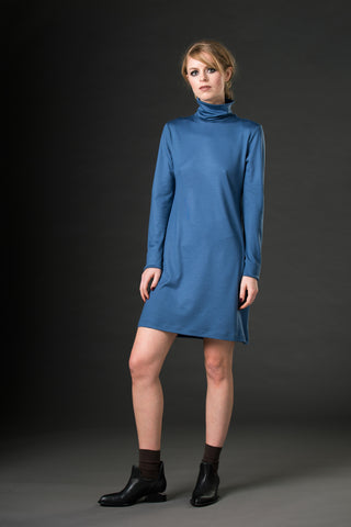 Skinny Marinky Under-Dress - blue
