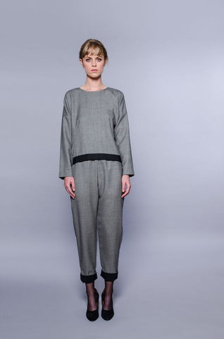 Washington Top - grey
