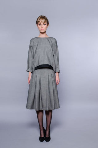 Washington Skirt - grey