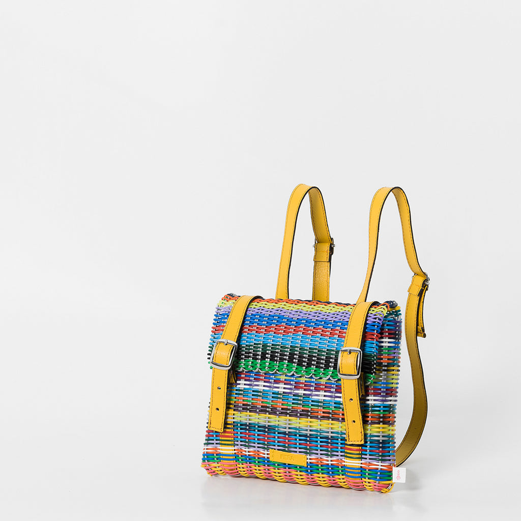 Mini H Girl Backpack by Fibra Designs