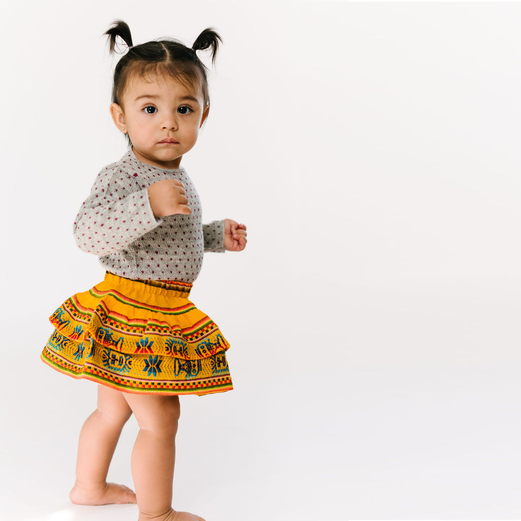 Unique toddler skirt by Folklore