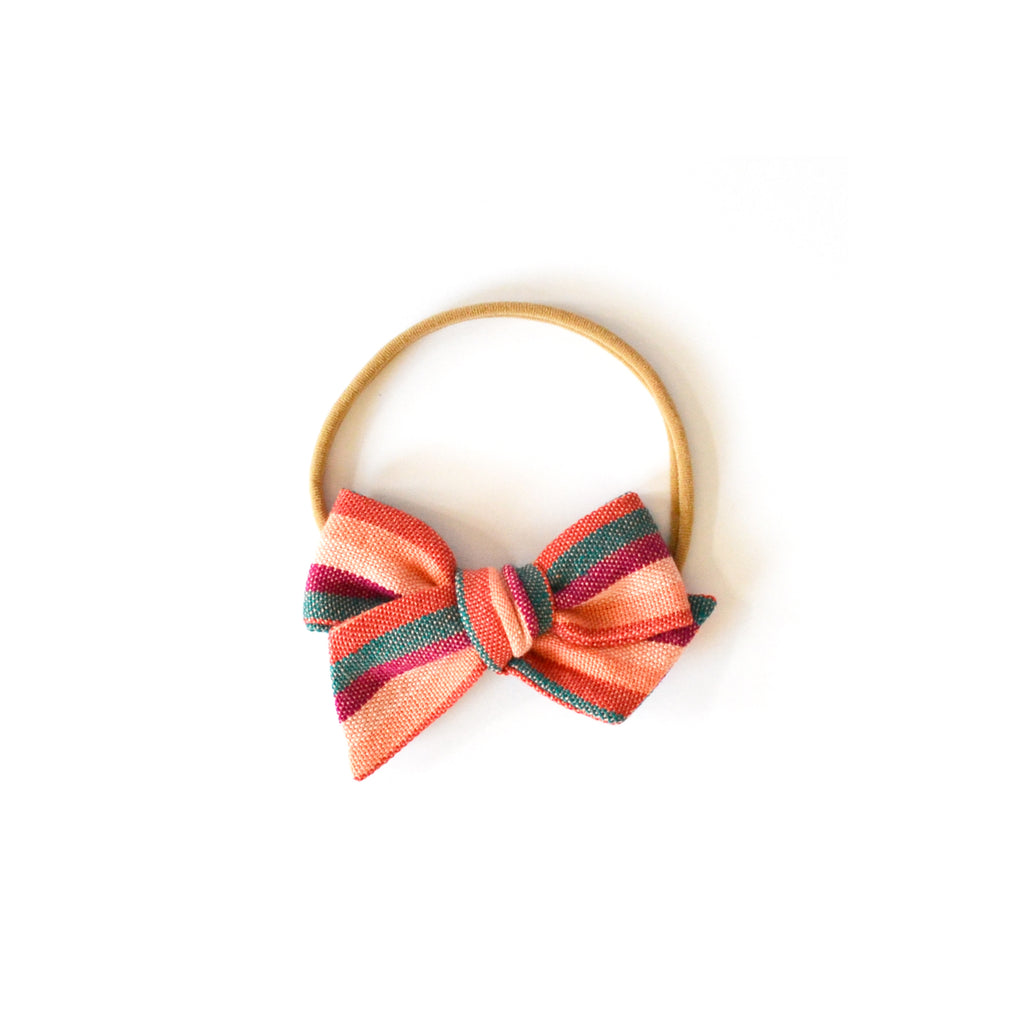 Mini Twirl Headband in Calabacita