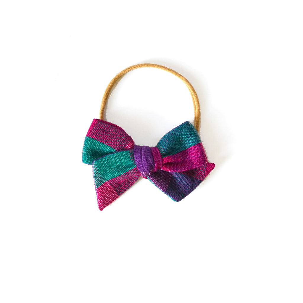 Mini Twirl Headband in Lila