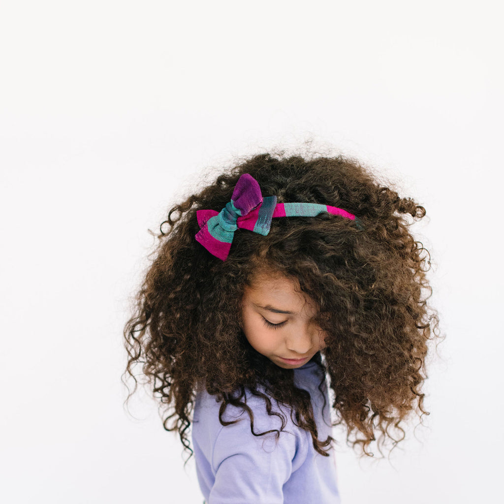 Oversized Twirl Girl Headband in Esmeralda