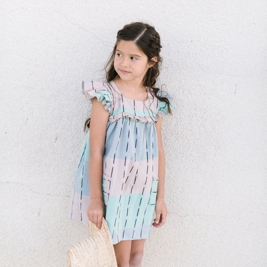 Brisa Dress in Olas de Mar