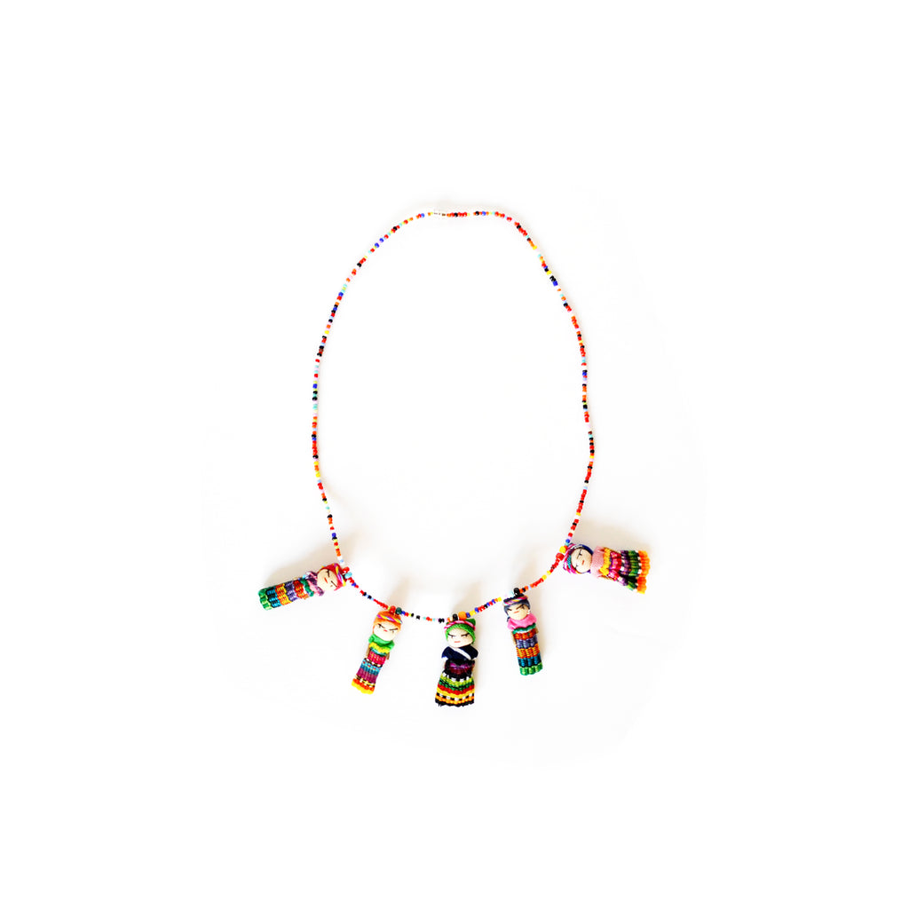 Worry Doll Necklace