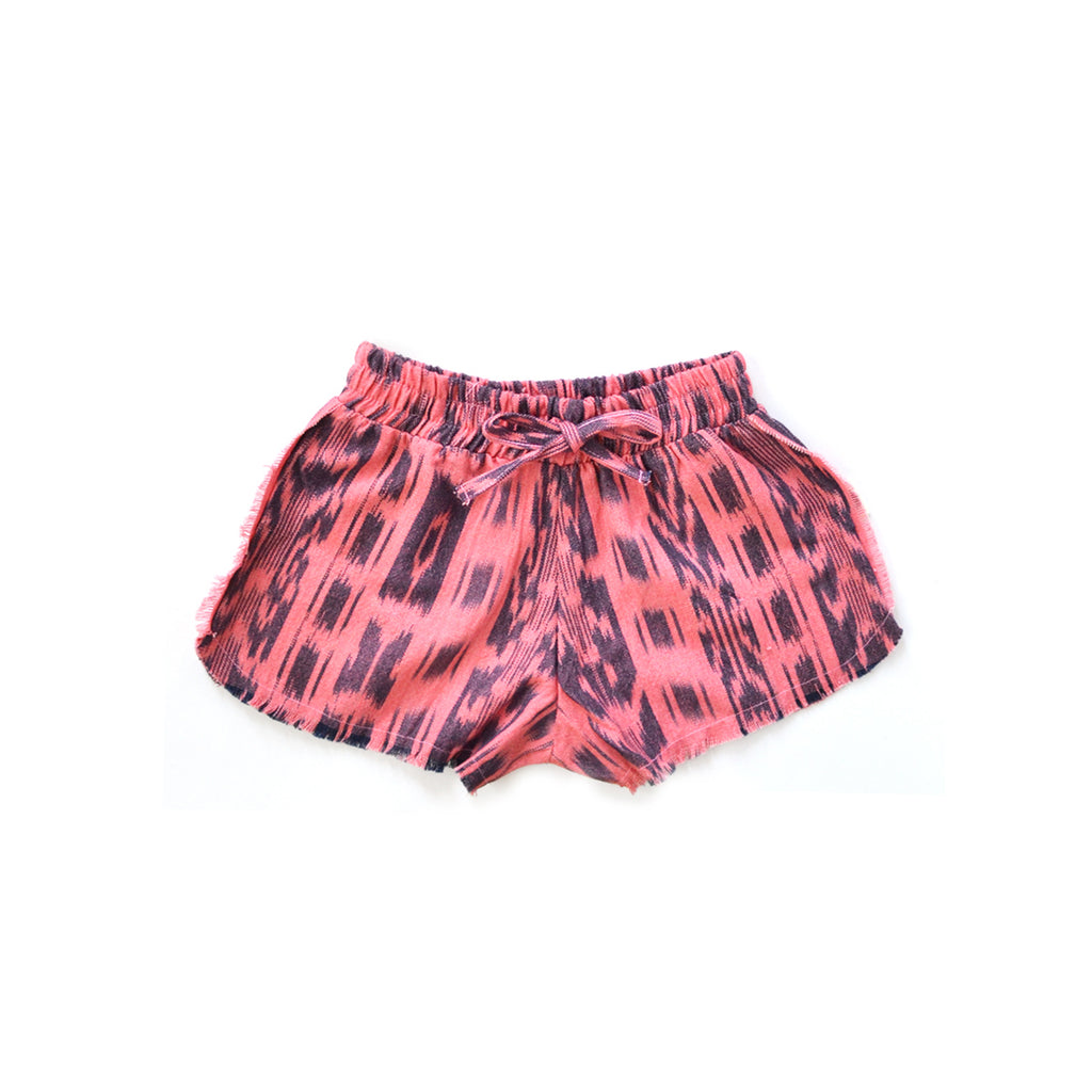Ava Girl Short in Flamingo