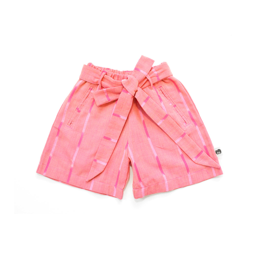 Cora Girl Short in Coral