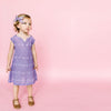 gauze girl dress