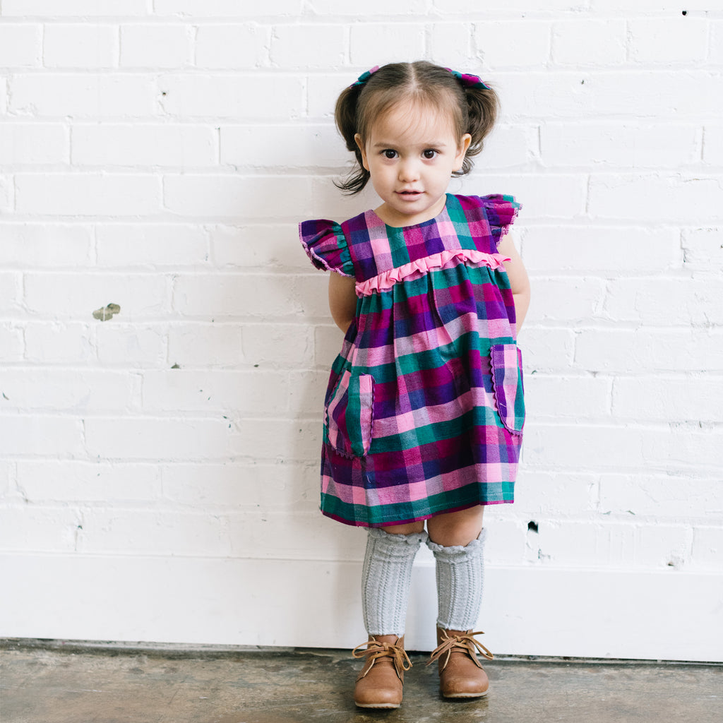 Mini Veda Dress in Lila