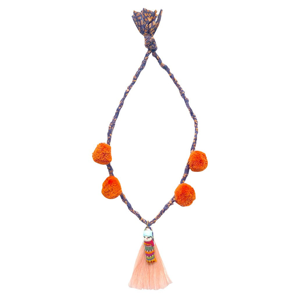 Folklore Las Niñas X Gaia Girl Necklace || Jomana