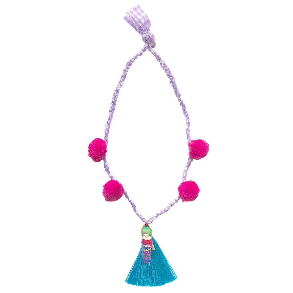 Folklore Las Niñas X Gaia Girl Necklace || Jori