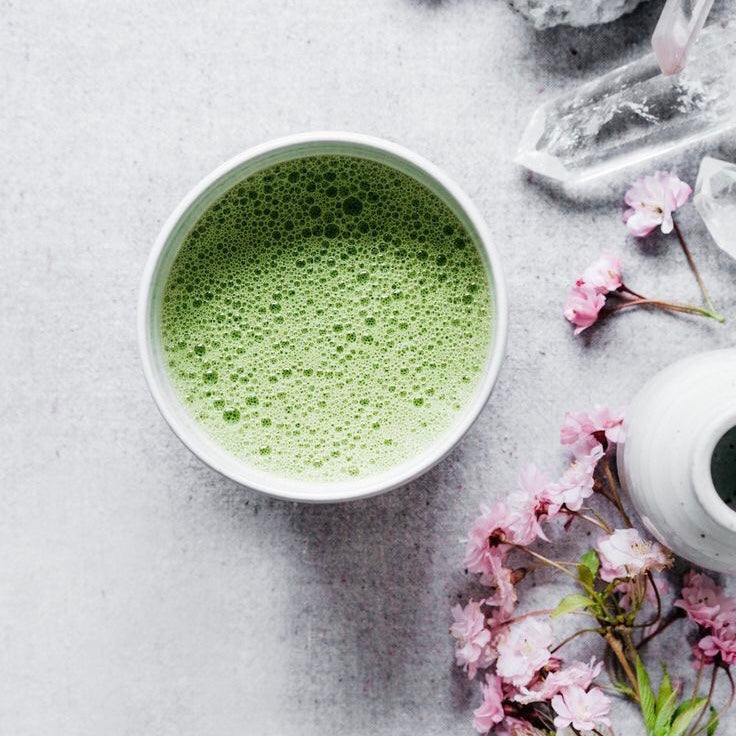 The Matcha Collagen Latte That's Good For Your Skin