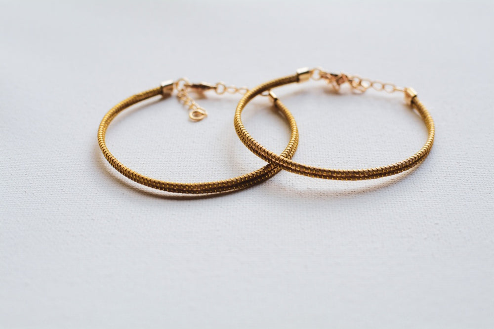 Original Skinny Golden Grass Bracelet