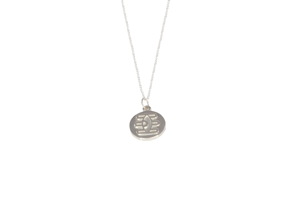 Eye of Shiva Coin Necklace