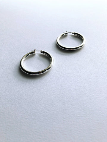 Matte Button Drop Earrings