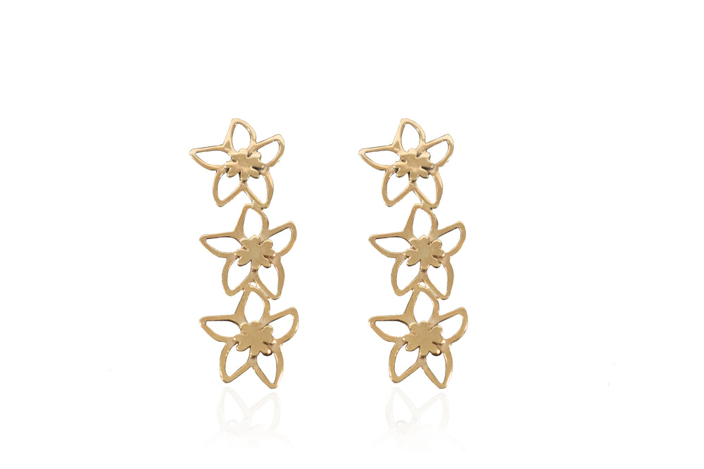 Flora Wall Earrings