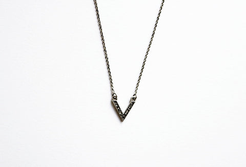Baby Pyramid Necklace