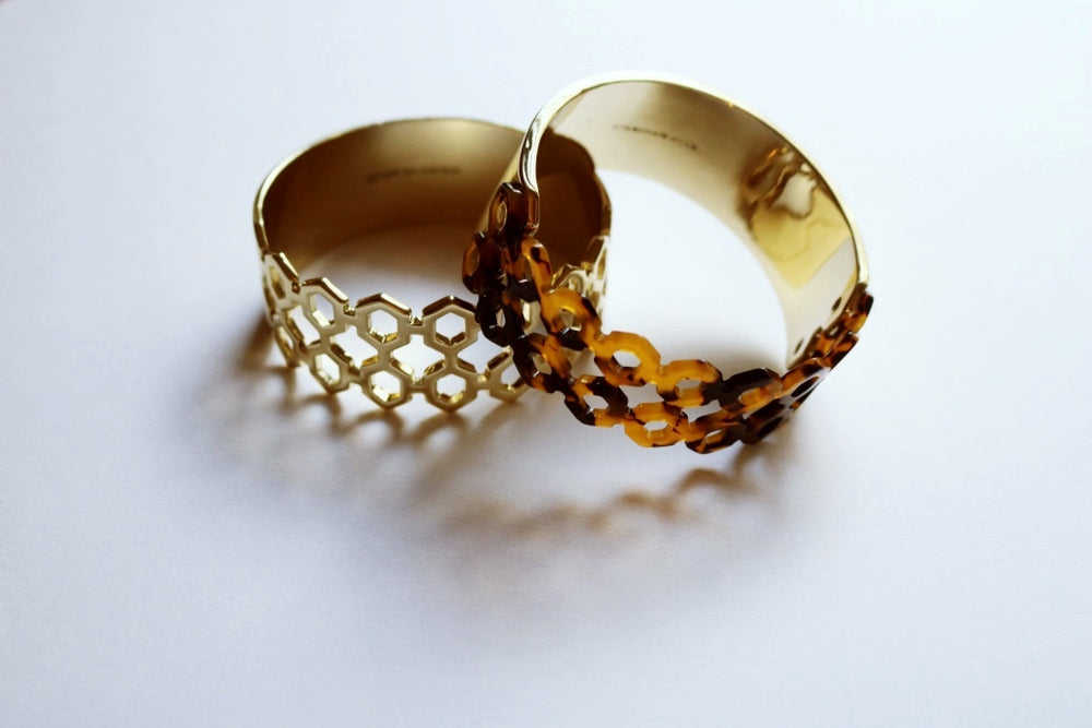 Medium Honeycomb Bangle