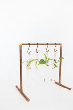 Copper Display Rack
