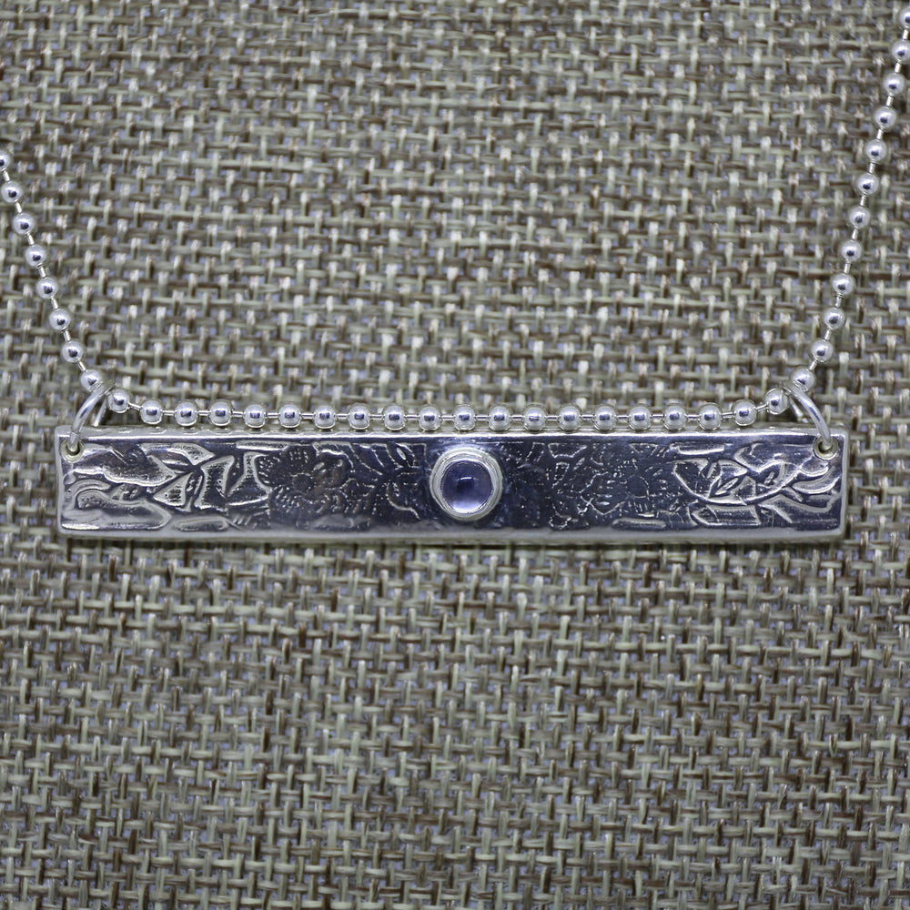 Flower Power Necklace with Iolite